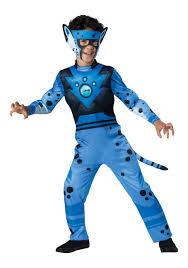 Halloween Cheetah Costumes Wild Kratts Blue Cheetah Costume