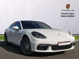 porsche panamera white used porsche panamera white for sale motors co uk