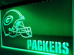 green bay packers lights ld320 green bay packers helmet nr led neon light sign in plaques