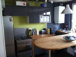 cuisine gris et vert déco deco cuisine gris et vert anis 12 montreuil 07211249 bas