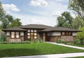 prairie modern plan 69603am 3 bed modern prairie ranch house plan plans maison