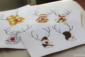 fabric scrap christmas cards diy picklee