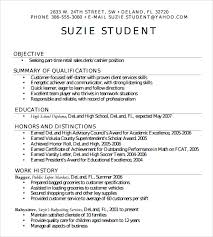 resumes for high students skills sle high resume template 6 free documents in pdf word