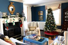 Interiors For The Home by Christmas Tour Of Homes Link Up My Holiday Living Room