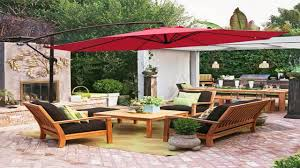 Patio Umbrellas Offset Best Choice Products Patio Umbrella Offset Hanging Backyard Stand