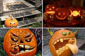 Best Halloween Pumpkin Carvings - decorating ideas top notch picture of creative shape eating
