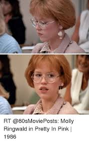 Meme Molly - rt molly ringwald in pretty in pink 1986 meme on esmemes com