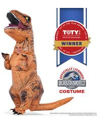 t rex costume boy s jurassic park 2 deluxe t rex costume treat bag