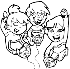 playing computer games coloring pages wecoloringpage