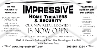 top brand home theater systems impressive new showroom opens in bloomington il for state of the