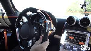 koenigsegg road onboard koenigsegg one 1 on the road u2013 steering wheel sssupersports