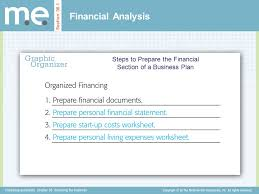 chapter 36 financing the business section 36 1 financial analysis
