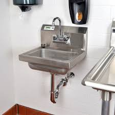 commercial stainless steel sink and countertop commercial kitchen stainless steel wall mount hand sink with