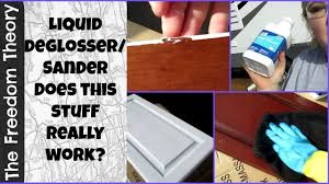 how to paint kitchen cabinets using liquid sandpaper rv 3 shopping day liquid sander huh the freedom theory