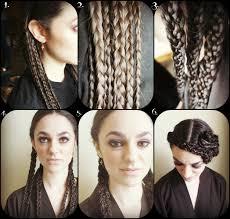 star wars hair styles deco star wars braided chapeau hair pinterest hair girls