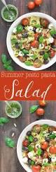 summer pesto pasta salad as easy as apple pie