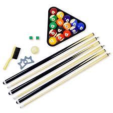 pool table accessories cheap amazon com hathaway pool table billiard accessory kit billiard
