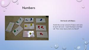 math games numbers dot cards with bears match the correct amount