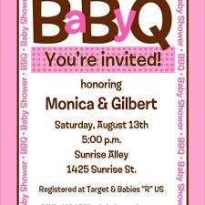 baby shower bbq invitations dancemomsinfo com