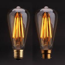 antique light bulb fixtures dimmable st64 vintage edison led filament bulbs retro antique lights