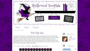 Free Halloween Printable Templates by Blogger Blog Templates Bd Web Studio