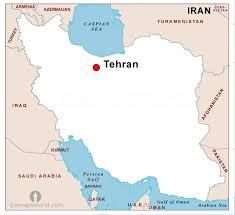 map iran iran capital map capital map of iran