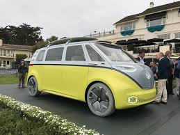 green volkswagen van new vw bus is coming cargo van hatchback also due by 2022