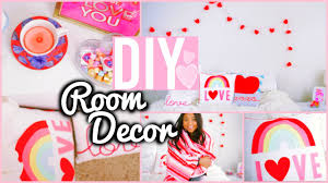diy room decorations valentine u0027s day cute cheap youtube