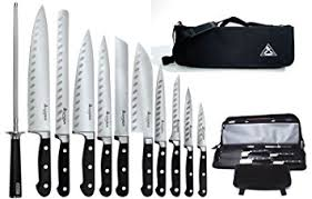 kitchen knives amazon amazon com saber f 12 tang german steel working chef knives