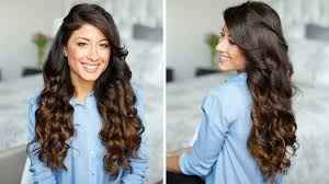 different ways to curl your hair with a wand how to curl hair at home check these five methods without using