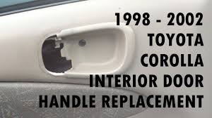 Exterior Car Door Handle Repair 1998 2002 Toyota Corolla Door Handle Replacement
