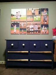 baseball hat rack using game balls by the created sign featured on