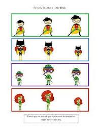 preschool printables super hero fun number cards mccormick