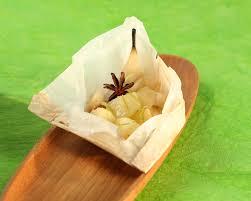 cuisine papillote papillote de poire au citron vert cuisine plurielles fr