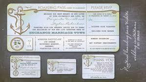 nautical wedding invitations read more nautical wedding invitation boarding pass ticket