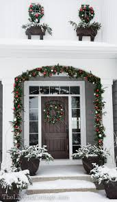 Exterior Christmas Decorations Outdoor Christmas Decor Adventures In Chainsaws And Christmas