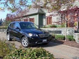 weekends 2011 bmw x3 takes on the mountain exhausted ca