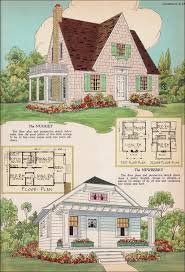 Storybook Cottage House Plans by Radford House Plans 1925 Nugget And Newberry Small House