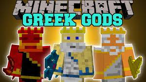 minecraft gods mod become greek gods and gain epic power mod