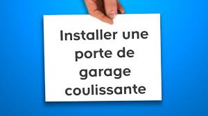 Castorama Portail Fer by Installer Une Porte De Garage Coulissante Castorama Youtube