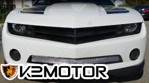 2012 camaro grill k2 motor installation 2010 2012 chevy camaro front grille