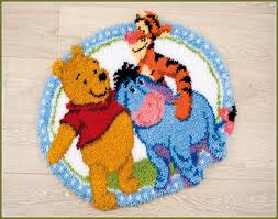 Latch Hook Rugs Latch Hook Rug Kits Disney Home Design Ideas