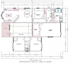 3 bedroom single wide mobile home floor plans dactus single wide