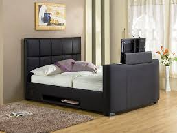 Bed Frame With Tv In Footboard Interior Hide Tv In Cabinet Bed With Built In Tv Lift Tv Riser