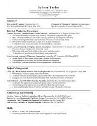 Resume Template Sample Sample Resume Cv Objective Statement Example Resumecvexamplecom