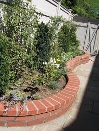 Front Garden Walls Ideas Garden Bricks Walls New Brick Garden Wall Landscaping V Brick