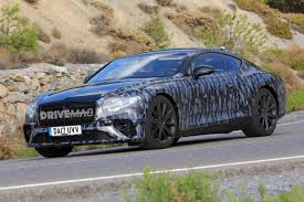 all new 2018 bentley continental gt reveals more of its athletic body