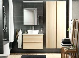Ikea Bathroom Cabinet Doors Ikea Bathroom Cabinet Doors Bathroom With Grey Brown Tiles And