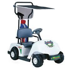 kid motorz jr pro golf cart white 6v target