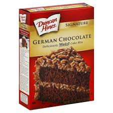 duncan hines signature cake mix german chocolate publix com
